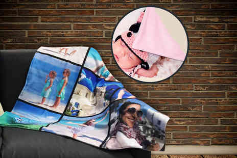 Great Photo Gifts - Small or medium photo blanket - Save 50%