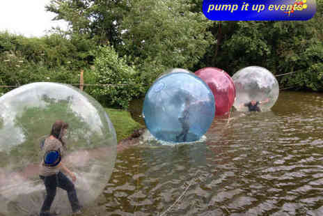 Pump It Up Events - Water Zorbing Experience for Two - Save 50%
