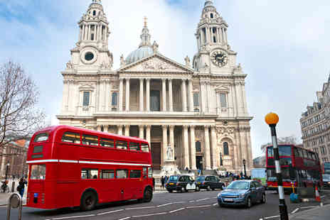 Premium Tours - Open Top Vintage Bus Tour of London with River Thames Cruise - Save 50%