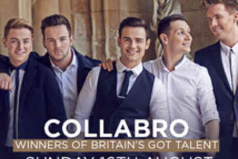 Cuffe & Taylor Touring - Tickets to Collabro at Betley Court Farm - Save 0%