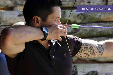 GTS Adventure - Archery, Air Rifle and Cross Bow Session For One - Save 69%