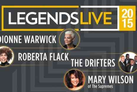 Tony Denton Promotions - One Tickets to Legends Live  - Save 0%