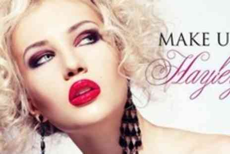 Make Up By Hayley - Two Hour Make Up Masterclass With Skin Cocktail Treatment and Goody Bag For Two - Save 69%