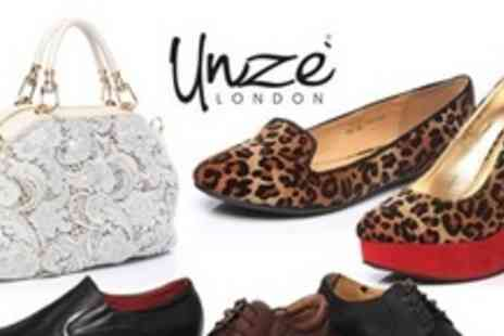 Unze.co.uk - £50 Voucher towardsMens and Womens Shoes and Accessories - Save 60%