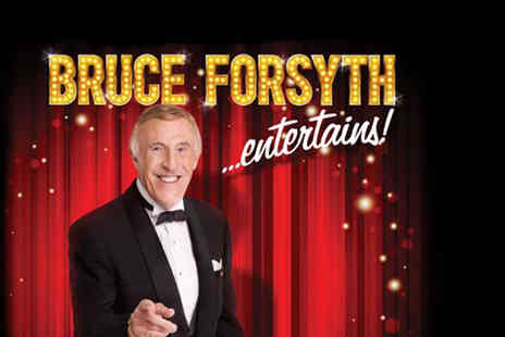 The Omega Holidays Group - One night stay ticket to Bruce Forsyth Entertains - Save 20%