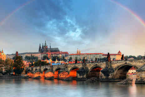 TravelUnravel - Prague hotel breaks with return flights - Save 38%