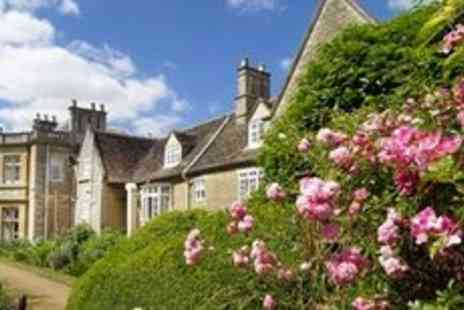 Wadenhoe House - Two night Northamptonshire Manor house stay with dinner - Save 0%