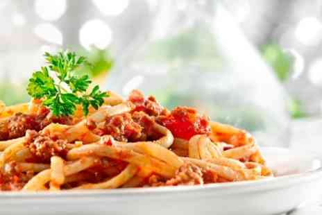 Cafe Mode - Two Course Italian Meal With Wine For Two - Save 50%