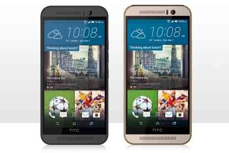 buy mobiles - HTC One M9 on 24 Month EE Contract With 1000 Minutes, Unlimited Texts and 1GB Data  Free Delivery - Save 0%