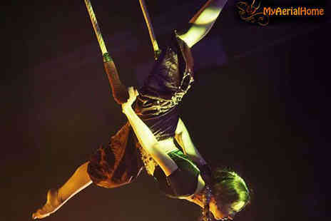 My Aerial Home - Three Aerial Acrobatic Classes - Save 58%