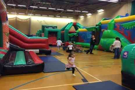 The Bounce Dept - Entry to Kids Soft Play With a Drink For Two - Save 40%