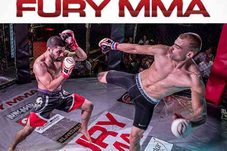 Fury MMA - Two General Standing Admission or Premium Seated  - Save 52%