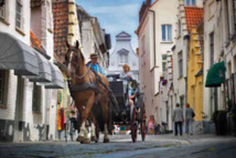 ShortBreaks - Three Nights in Idyllic Bruges with Four Star Hotel and Eurostar Journey - Save 0%