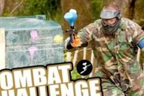 Quad Challenge - Paintball Experience For Four Plus 100 Paintballs Each - Save 77%