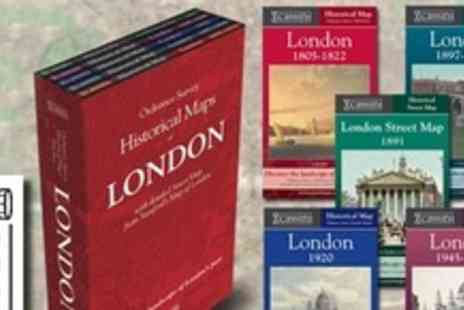 Cassini Maps - Historical London Map Boxset - Save 56%