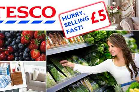 Tesco - £10 to Spend at Tesco - Save 50%