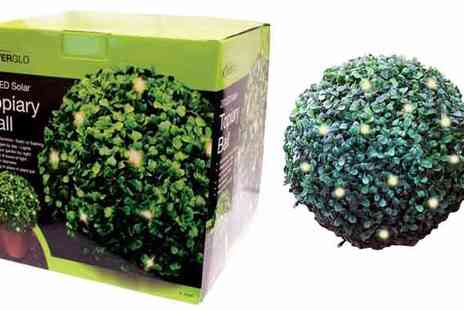 All Boxed Up  - LED Solar Topiary Ball - Save 70%