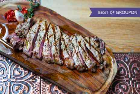 Rextail - Three Course Meal For Two Including Wagyu Steak - Save 64%