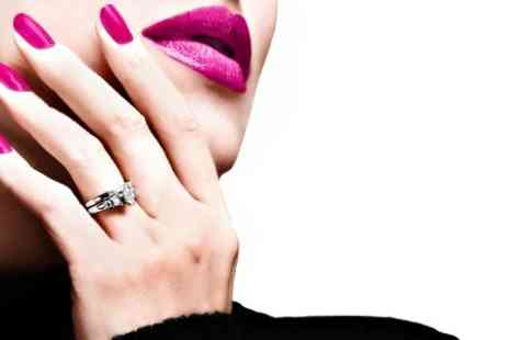Hollywood Nailspa - Acrylic Nails Plus Manicure or Pedicure - Save 52%
