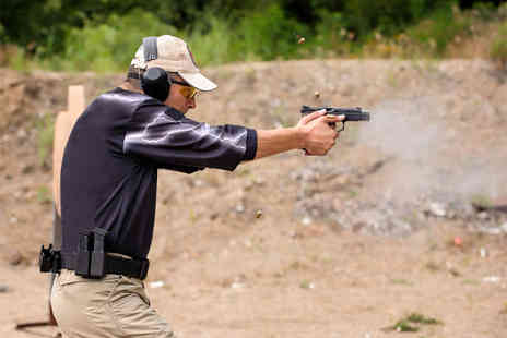 1066 Target Sports - 2½ hour firearms and safety course including precision shooting and more  - Save 60%