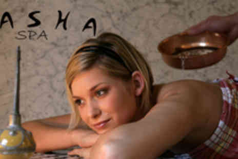 The Pasha Spa - Hammam experience including Turkish bath, body scrub & chocolate mask - Save 62%