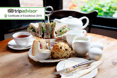 The Lavender Rooms -  Yorkshire afternoon tea for 2 including soup, sandwiches, scones, cakes and a pot of Yorkshire tea  - Save 51%