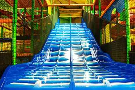 Giddy Kidz - Entry to Soft Play For Kids and Adults, Plus Kids Food - Save 47%