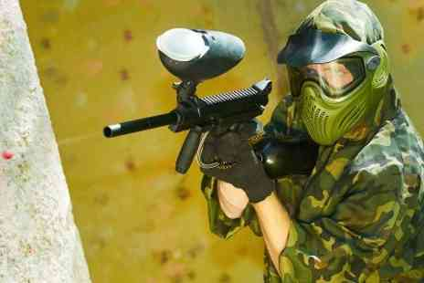 Manchester Paintball Arena - Paintballing With 100 Rounds - Save 75%