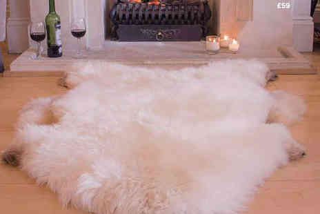 Sheepys - British Sheepskin Rug  - Save 48%