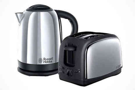Kitchen Gadgets - Russell Hobbs Toaster and Kettle Set - Save 56%