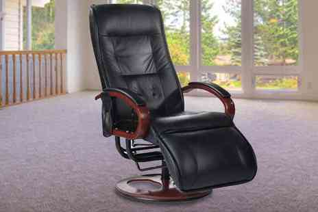 Qfonic Technology - Premier Contemporary Bliss Massage Chair Arm Chair - Save 55%