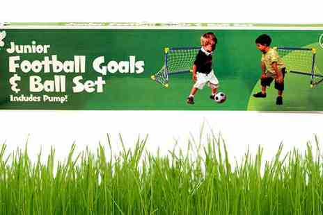 All Boxed Up - Junior Football and Goals Set - Save 63%