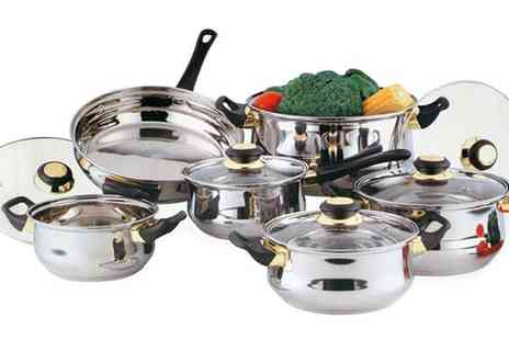 Tool Collection- 12 Piece Stainless Steel Pan Set - Save 0%
