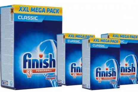 Plaspac - 456 x Finish Powerball XL Dish Washer Tablets - Save 68%