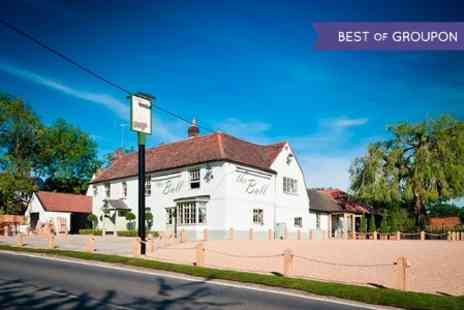 The Bull and Willow Room - Three Courses With Prosecco For Two - Save 51%