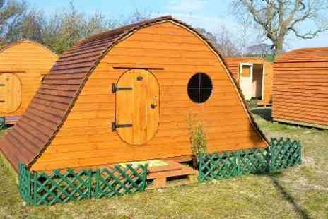 Castley Camp Pods - One Night stay For Up to Four - Save 35%