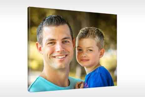 Prentu - A2 Personalised Photo Canvas - Save 81%