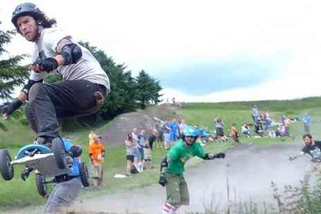 Hales Board and Bike Park - Mountain Boarding Lesson For One - Save 60%