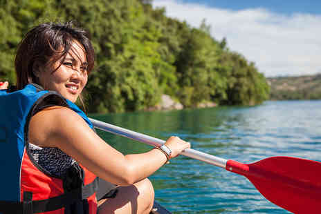 Paddlepower & Adventure -  Four hour canoeing or kayaking session - Save 53%