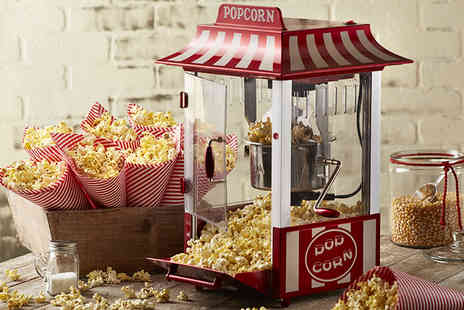 SweetBooth - Two hours of popcorn machine hire including delivery - Save 51%