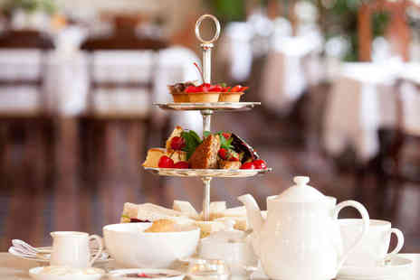 Loves Cafe - Afternoon Tea for Two with a Glass of Pimms Each for Two - Save 50%