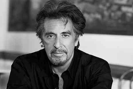 Olexy Productions - Tickets to An Evening with Al Pacino with Dining Option - Save 20%
