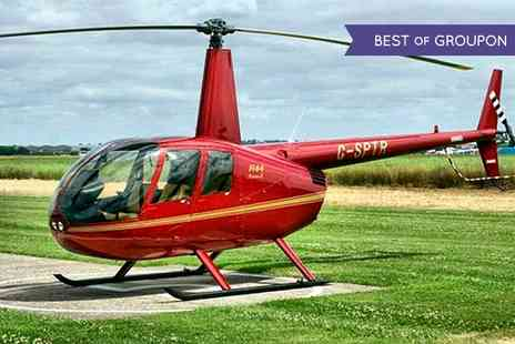 Heli Air - Helicopter Pleasure Flight Over Stratford Upon Avon - Save 66%