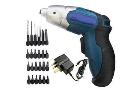 De Opera - Cordless Electric Screwdriver - Save 39%