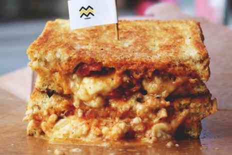 YAMMM - Choice of Gourmet Toastie With a Sweet Treat - Save 51%