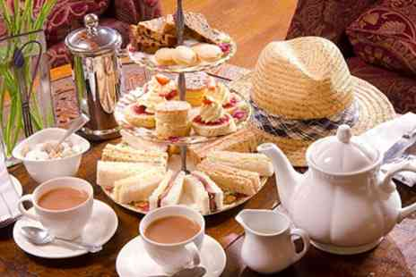Broadoaks Country House Hotel - Afternoon Tea & Sparkling Wine for Two - Save 44%