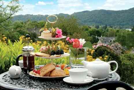 Hillthwaite House Hotel -  Afternoon Tea, Bubbly & Swim for 2 with Lake Views - Save 38%