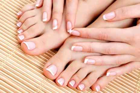 Fusion Hair and Beauty - File and Polish or Paraffin Wax Manicure or Pedicure - Save 50%