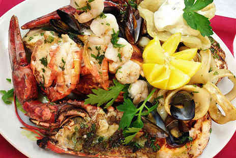 Tuttobene Italian Restaurant - Grilled Seafood and Lobster Platter to Share Between Two  - Save 48%