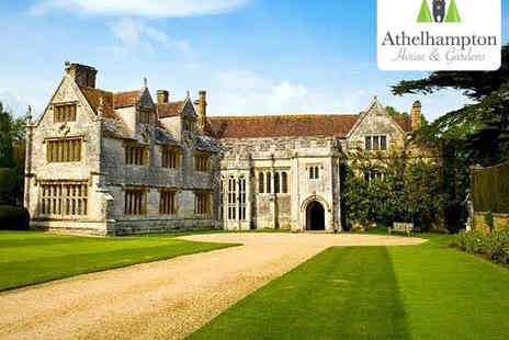 Athelhampton House & Gardens - Admission, Hot Drink, and Brochure for Two  - Save 57%